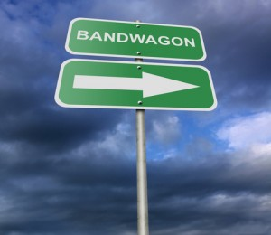 Jump on the Bandwagon - American Idiom
