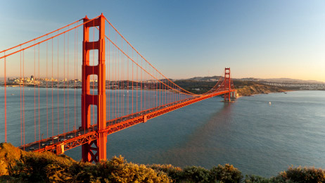 California has an accent as distinctive as its bridges
