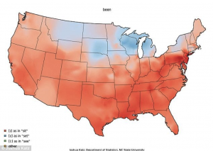 American dialect-been